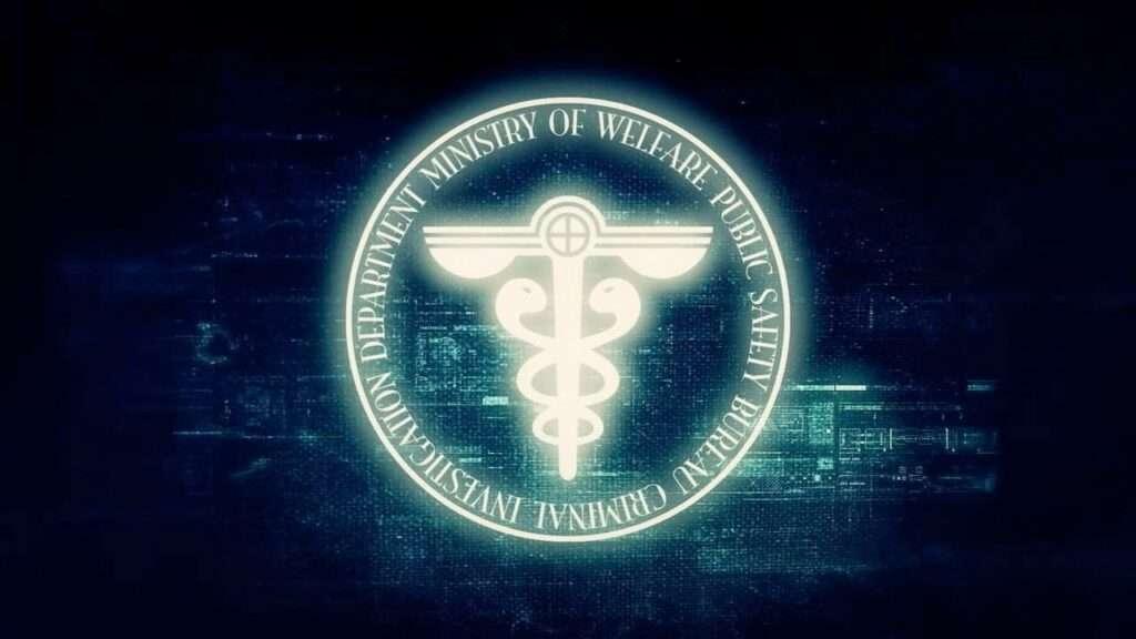 Imagem do símbolo do Ministério do Bem-Estar e Segurança Pública, Departamento de Investigação Criminal