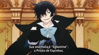 """Imagem de Vanitas dizendo que a anomalia de Amélia é """"Eglantine"""", a Prisão de Espinhos"""