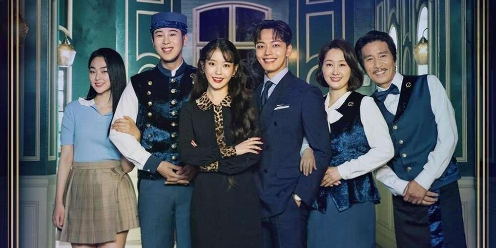 Imagem dos personagens principais de Hotel Del Luna