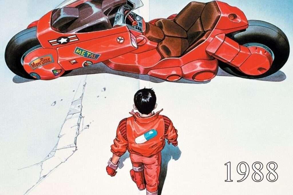 Capa de um dos animes clássicos, Akira