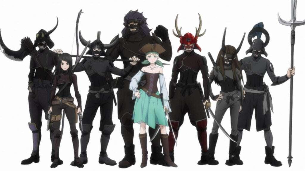 Os piratas Samurais