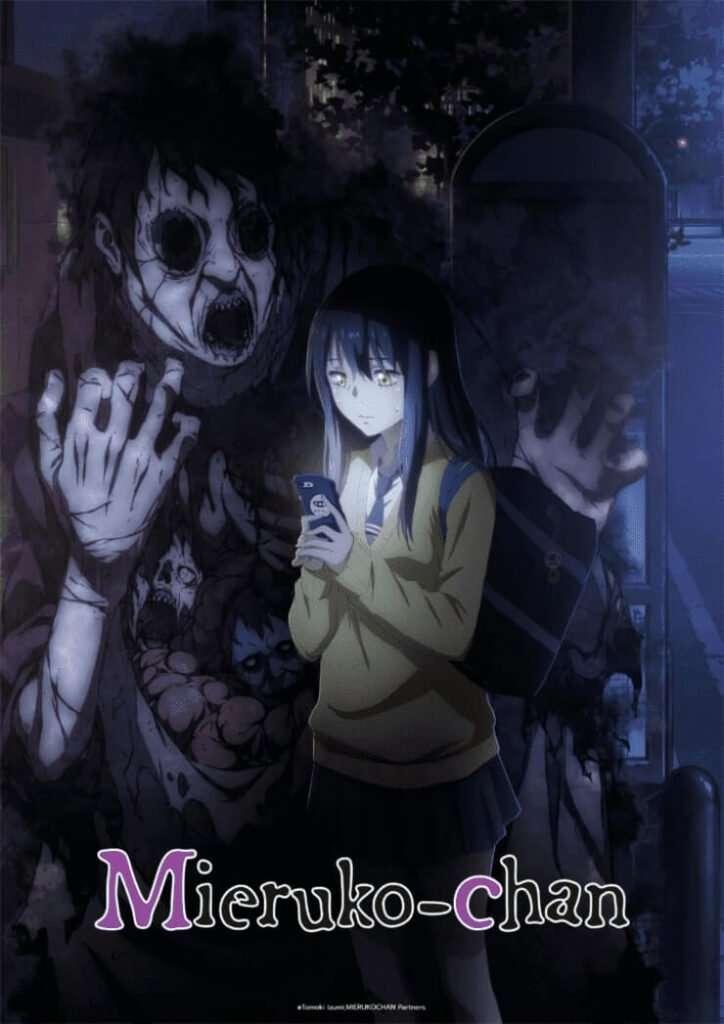 Mieruko-chan anime visual oficial