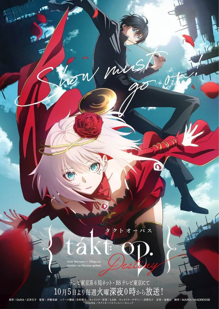 Takt Op. Destiny anime visual oficial