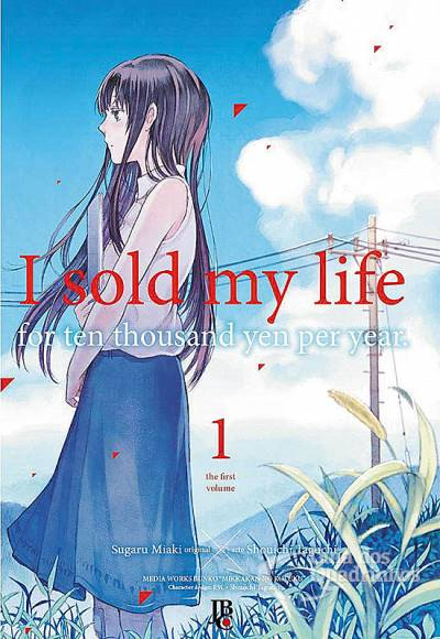 capa mangá I Sold My Life For Ten Thousand Yen Per Year