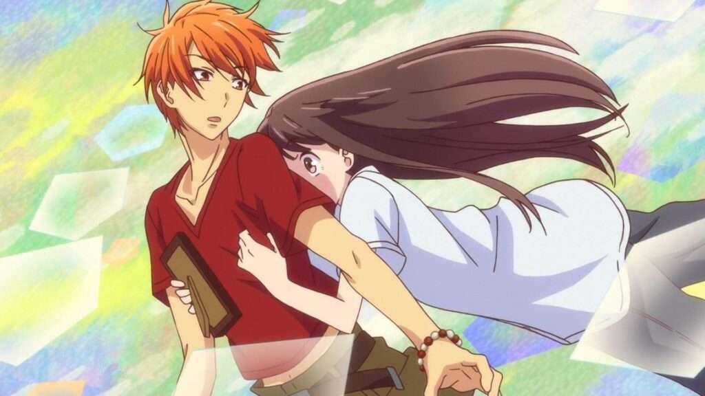 Tooru abraça acidentalmente Kyo