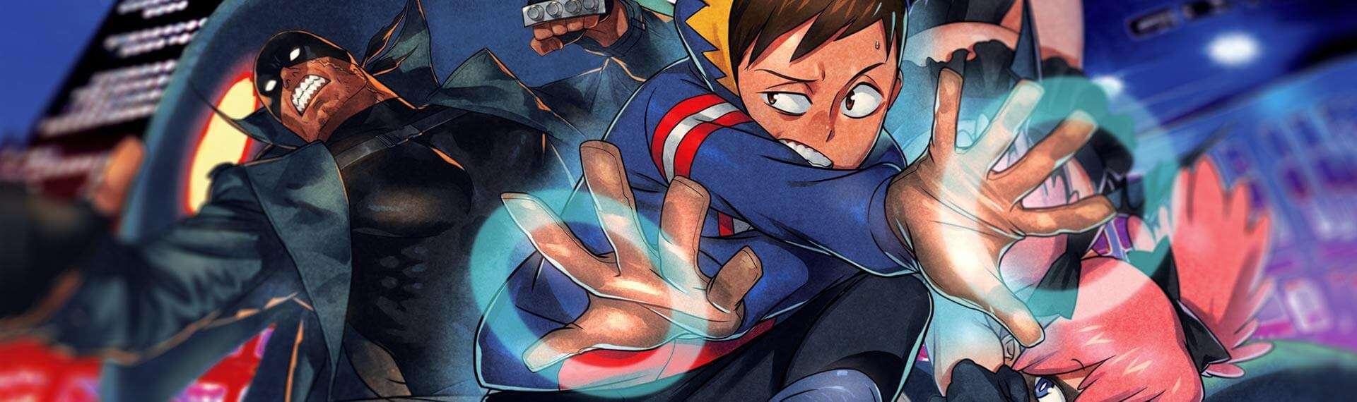 Capa Vigilantes, spin off My Hero Academia