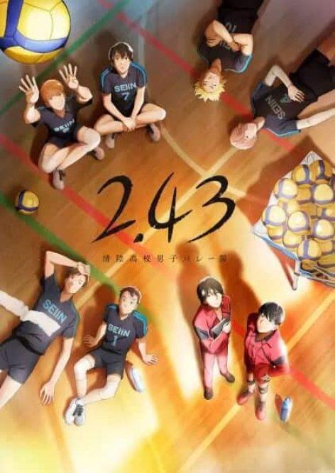 2.43 Seiin Koukou Danshi Volley-bu visual anime janeiro 2021