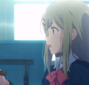 Adachi to Shimamura menina