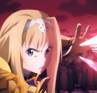 Alice sword art online alicization