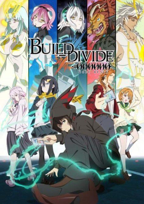 Build Divide Code Black anime visual oficial anime
