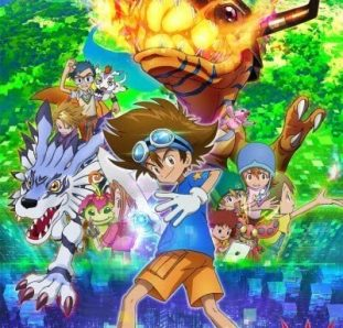 Digimon Adventure 2020 visual capa