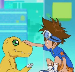 Digimon Adventure Tai e Agumon