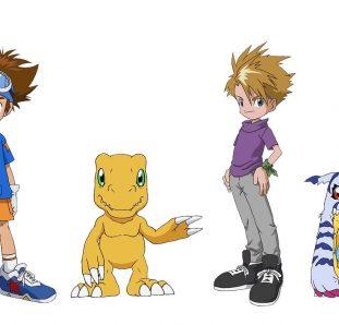 Digimon Adventure Tai e Matt