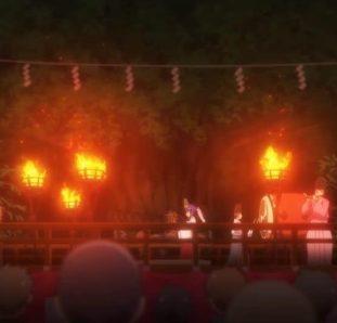 Higurashi no Naku Koro ni cena escura