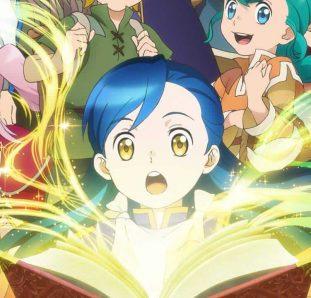 Honzuki no Gekokujou 2ª temporada livros abertos