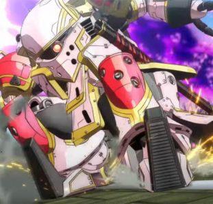 Shin Sakura Taisen The Animation robo gigante