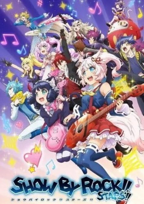 Show by Rock Stars visual anime