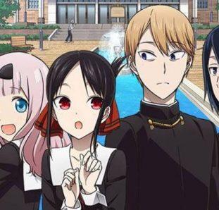 Teaser da Kaguya-sama 2ª temporada visual com zoom e personagens aglomerados