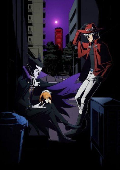 The Vampire Dies in No Time (Kyuuketsuki Sugu Shinu) anime visual oficial