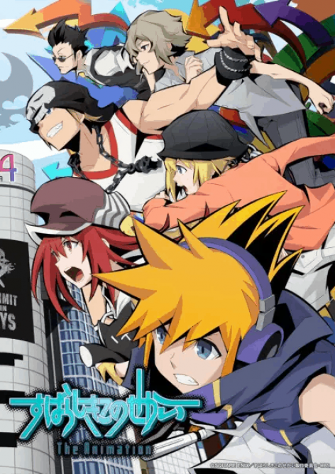 The World Ends with You The Animation visual oficial