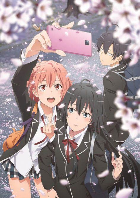Visual da terceira temporada de Yahari Seishun