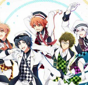 Wallpaper de idolish 7 com os personagens principais