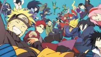 Personagens de Naruto Shippuden reunidos