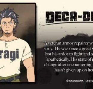 personagem masculino do anime deca-dence