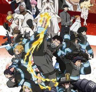 personagens de fire force