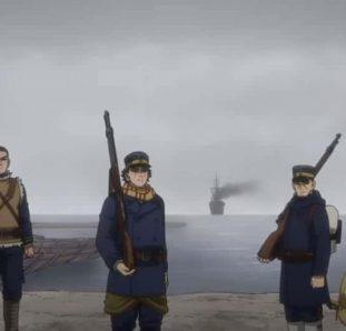 soldados em Golden Kamuy