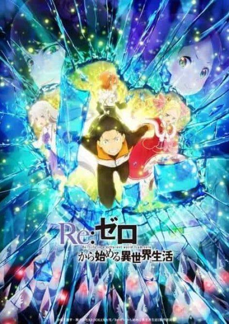 visual da segunda parte da segunda temporada de rezero